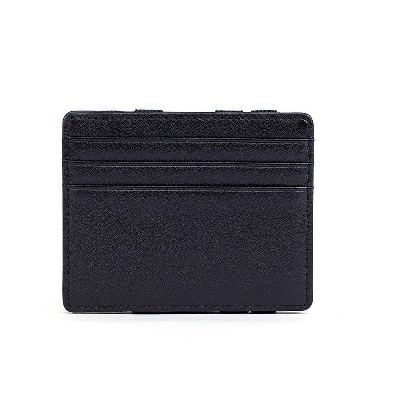 RFID credit ID card holder magic Italian leather wallet  LT-LW001