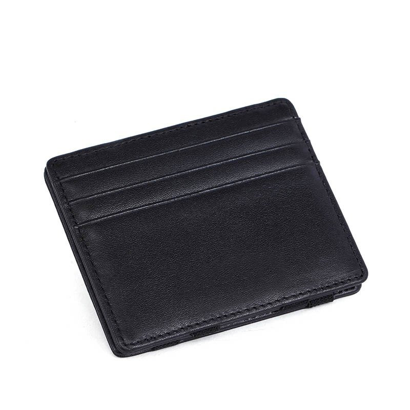 RFID credit ID card holder magic Italian leather wallet  LT-BMW033