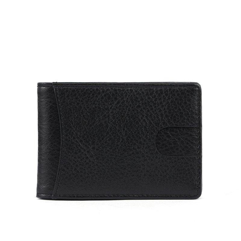 minimalist RFID blocking men's leather travel wallet   LT-LW003