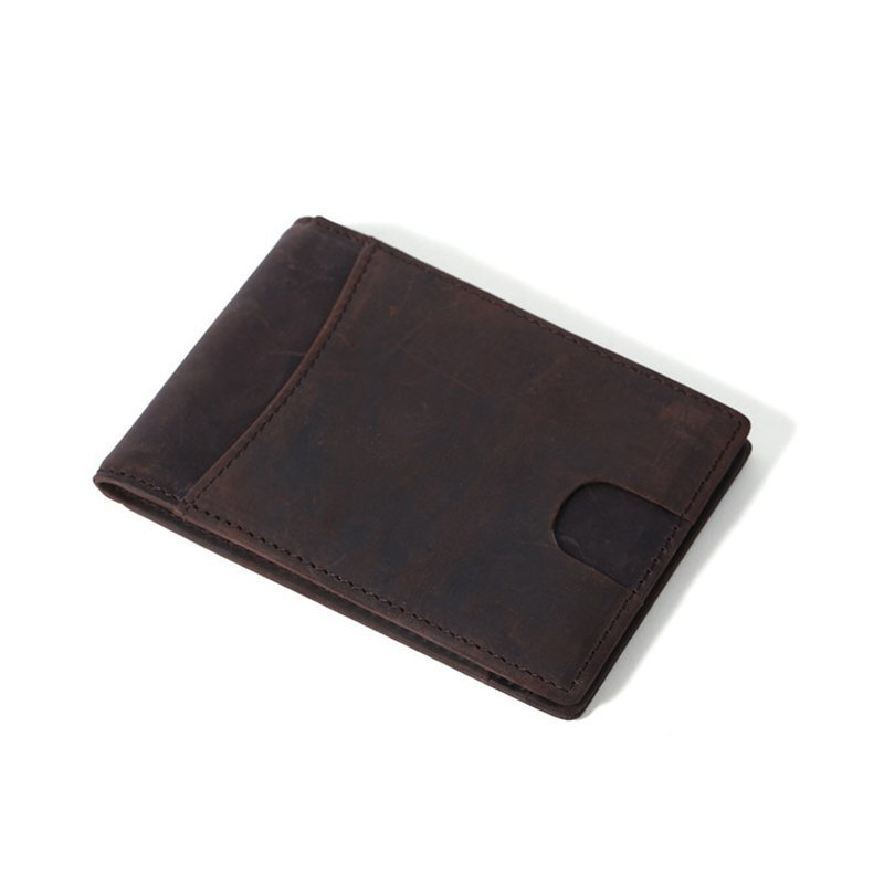 customized leather money clip wallet for men LT-MC002