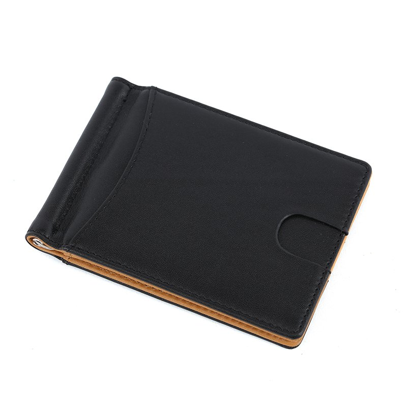 customized wallet best leather money clip wallet for men LT-MC003