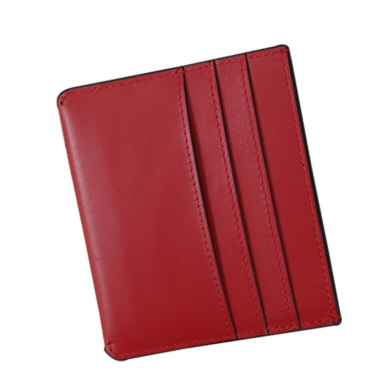 Slim Card Sleeve Wallet with RFID Protection Leather Card HolderLT-CH001