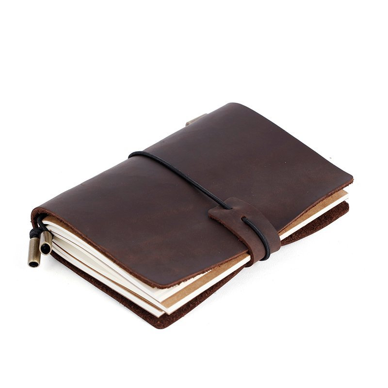 Travellers Small Format genuine leather Journal Diary Notebook Business Travellers Notebook LT-LJ002