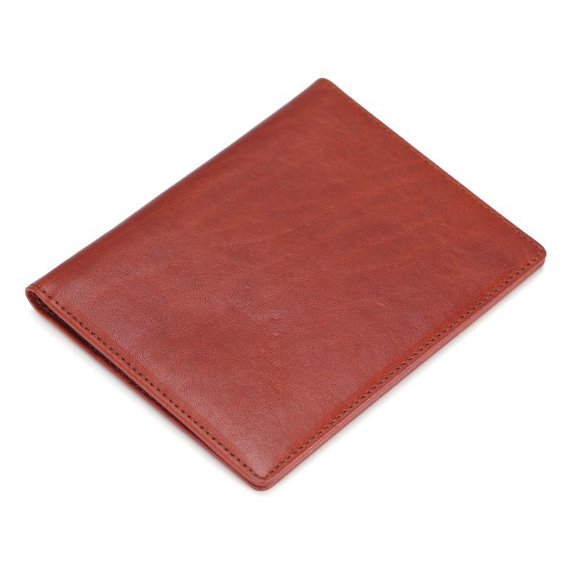Italian high-end quality real leather passport hoder cover  LT-PH003