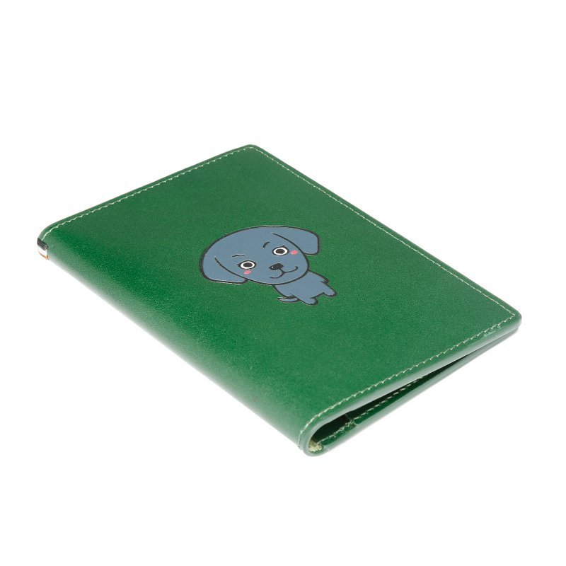 RFID blocking Italian real leather passport holder wallet  LT-PH005