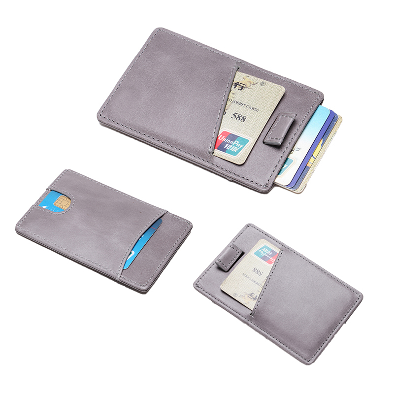 Leather Card Holder Wallet Leather Card Case LT-BMC002