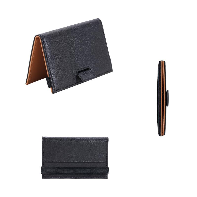 Minimalist Slim Wallet RFID Protection Card Holder Wallet LT-BMC107